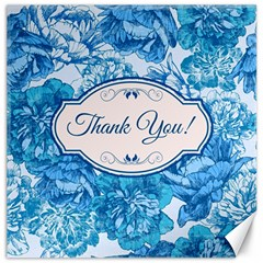 Thank You Canvas 12  X 12