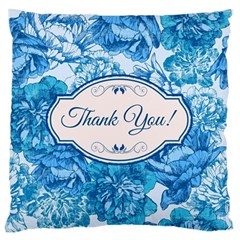 Thank You Standard Flano Cushion Case (two Sides)