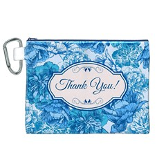 Thank You Canvas Cosmetic Bag (xl)