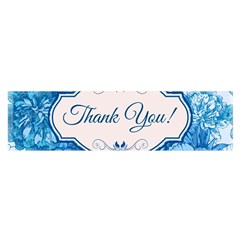 Thank You Satin Scarf (oblong)