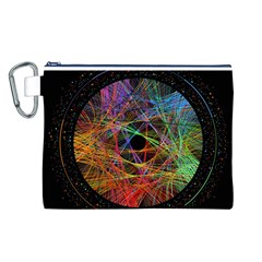 The Art Links Pi Canvas Cosmetic Bag (l)