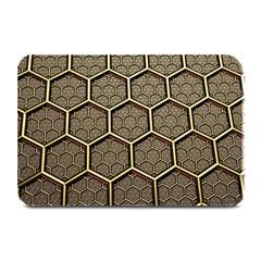 Texture Hexagon Pattern Plate Mats
