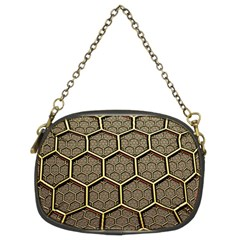 Texture Hexagon Pattern Chain Purses (two Sides)