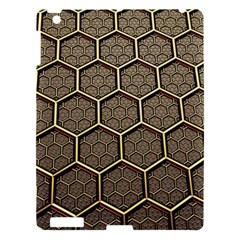 Texture Hexagon Pattern Apple Ipad 3/4 Hardshell Case