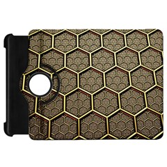 Texture Hexagon Pattern Kindle Fire Hd 7