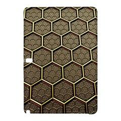 Texture Hexagon Pattern Samsung Galaxy Tab Pro 10 1 Hardshell Case