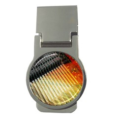 Technology Circuit Money Clips (round)