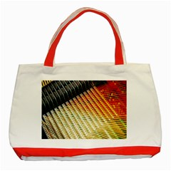 Technology Circuit Classic Tote Bag (red)