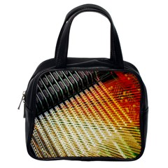 Technology Circuit Classic Handbags (one Side)