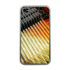 Technology Circuit Apple Iphone 4 Case (clear)