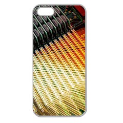 Technology Circuit Apple Seamless Iphone 5 Case (clear)