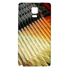 Technology Circuit Galaxy Note 4 Back Case