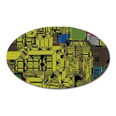 Technology Circuit Board Oval Magnet