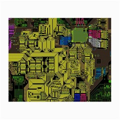 Technology Circuit Board Small Glasses Cloth