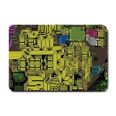 Technology Circuit Board Small Doormat