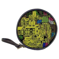 Technology Circuit Board Classic 20 Cd Wallets
