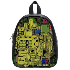 Technology Circuit Board School Bags (small)