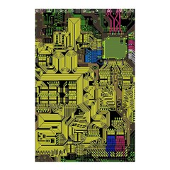 Technology Circuit Board Shower Curtain 48  X 72  (small)