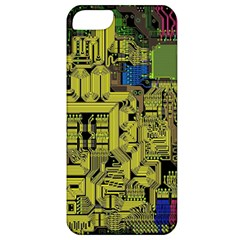 Technology Circuit Board Apple Iphone 5 Classic Hardshell Case