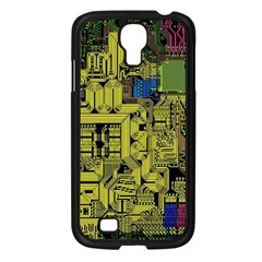 Technology Circuit Board Samsung Galaxy S4 I9500/ I9505 Case (black)