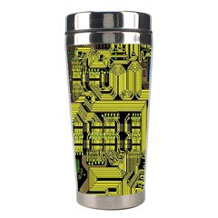 Technology Circuit Board Stainless Steel Travel Tumblers
