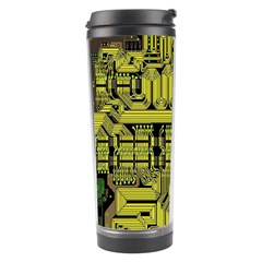 Technology Circuit Board Travel Tumbler