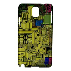 Technology Circuit Board Samsung Galaxy Note 3 N9005 Hardshell Case