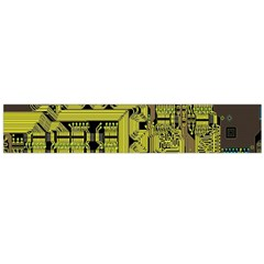 Technology Circuit Board Flano Scarf (large)