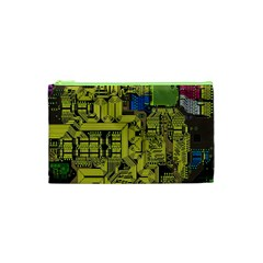 Technology Circuit Board Cosmetic Bag (xs)