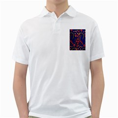 Texture Batik Fabric Golf Shirts