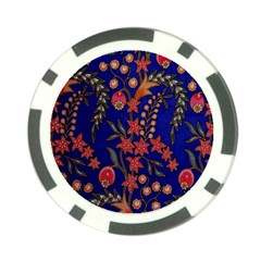Texture Batik Fabric Poker Chip Card Guard