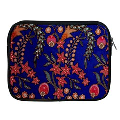 Texture Batik Fabric Apple Ipad 2/3/4 Zipper Cases