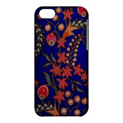 Texture Batik Fabric Apple Iphone 5c Hardshell Case