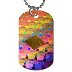 Technology Circuit Pentium Die Dog Tag (one Side)