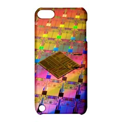 Technology Circuit Pentium Die Apple Ipod Touch 5 Hardshell Case With Stand