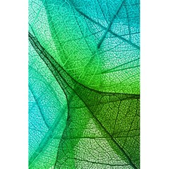 Sunlight Filtering Through Transparent Leaves Green Blue 5 5  X 8 5  Notebooks