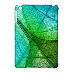 Sunlight Filtering Through Transparent Leaves Green Blue Apple Ipad Mini Hardshell Case (compatible With Smart Cover)