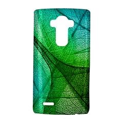 Sunlight Filtering Through Transparent Leaves Green Blue Lg G4 Hardshell Case