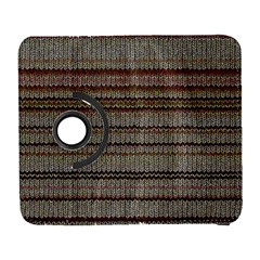 Stripy Knitted Wool Fabric Texture Galaxy S3 (flip/folio)