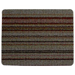 Stripy Knitted Wool Fabric Texture Jigsaw Puzzle Photo Stand (rectangular)