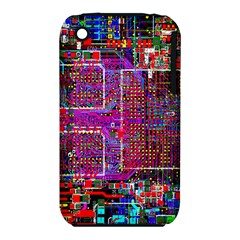 Technology Circuit Board Layout Pattern Iphone 3s/3gs