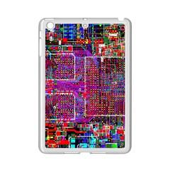 Technology Circuit Board Layout Pattern Ipad Mini 2 Enamel Coated Cases
