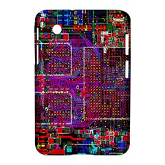 Technology Circuit Board Layout Pattern Samsung Galaxy Tab 2 (7 ) P3100 Hardshell Case