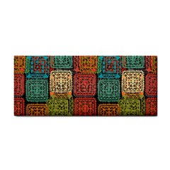 Stract Decorative Ethnic Seamless Pattern Aztec Ornament Tribal Art Lace Folk Geometric Background C Cosmetic Storage Cases