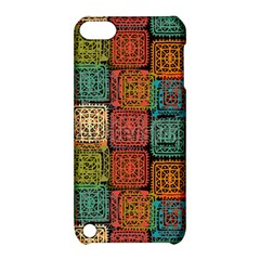 Stract Decorative Ethnic Seamless Pattern Aztec Ornament Tribal Art Lace Folk Geometric Background C Apple Ipod Touch 5 Hardshell Case With Stand