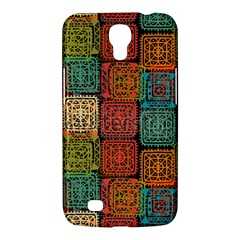 Stract Decorative Ethnic Seamless Pattern Aztec Ornament Tribal Art Lace Folk Geometric Background C Samsung Galaxy Mega 6 3  I9200 Hardshell Case