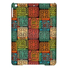 Stract Decorative Ethnic Seamless Pattern Aztec Ornament Tribal Art Lace Folk Geometric Background C Ipad Air Hardshell Cases
