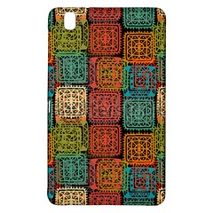 Stract Decorative Ethnic Seamless Pattern Aztec Ornament Tribal Art Lace Folk Geometric Background C Samsung Galaxy Tab Pro 8 4 Hardshell Case
