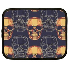 Skull Pattern Netbook Case (xxl)