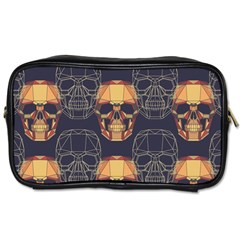Skull Pattern Toiletries Bags 2 Side